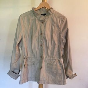 Eileen Fisher Khaki Jacket